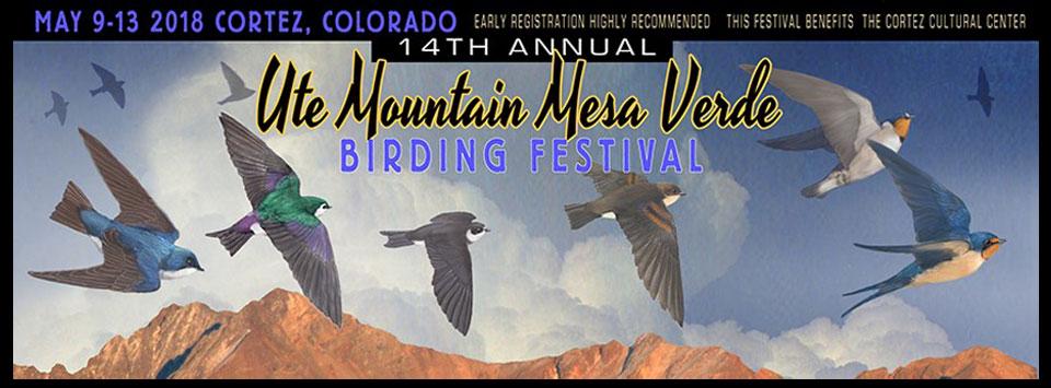 2018 Ute Mountain Mesa Verde Birding Festival